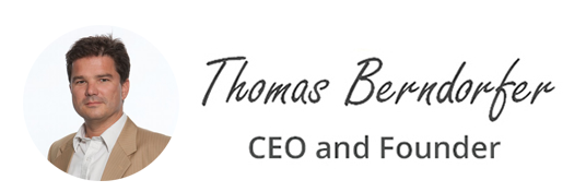 Thomas Berndorfer CEO and Founder